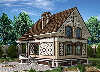 Дома с гаражом в павлово проект дома в